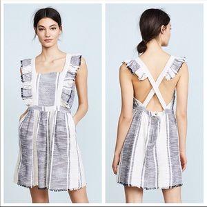 Anthropologie textures Apron Dress